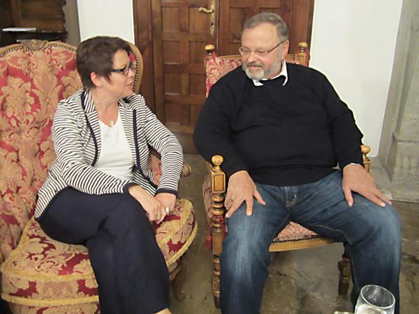 Kamingespräch mit Ex-MdB Johannes Gerster, September 2012