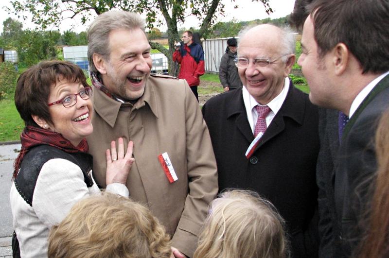 Wendelinusfest 2012 in Leiberstung mit Landrat Jürgen Bäuerle, MdB Peter Götz und MdL Tobias Wald