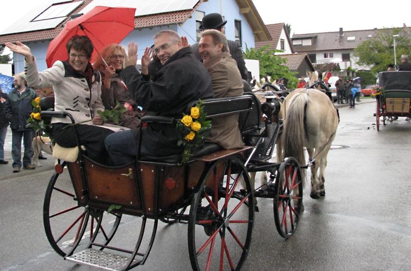 Wendelinusfest 2012 in Leiberstung mit Landrat Jürgen Bäuerle