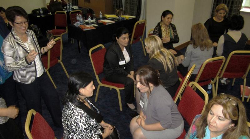 Mentoring-Programm in Baku/Aserbaidschan, November 2012