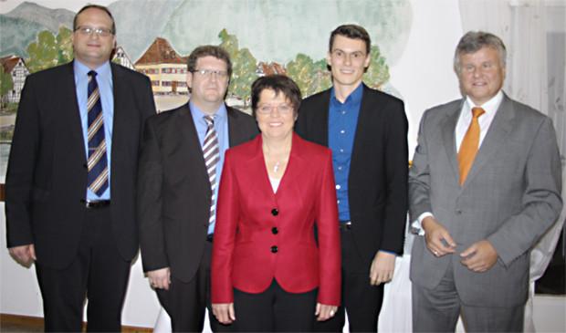 Offizielle Kandidatenvorstellung der CDU-Anwärter für den Bundestag im Wahlkreis Rastatt, November 2012