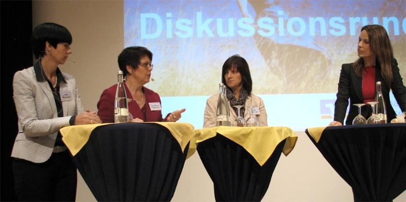 VR-Ladies Day in Bühl mit Anette Waidelich, Rosa Karcher und Hendrike Brenninkmeyer (SWR)