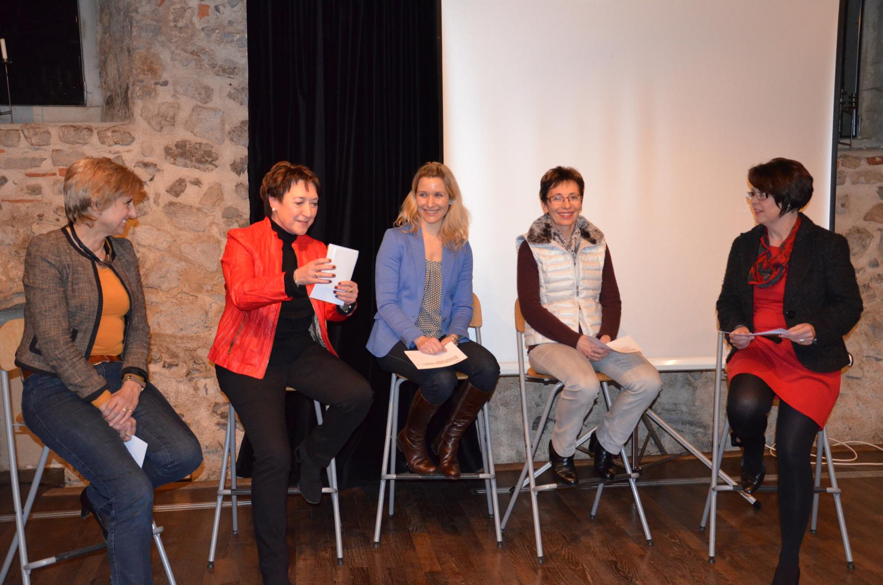 Podiumsdiskussion im Kloster in Horb