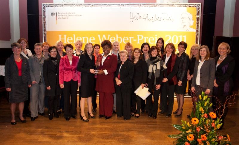 Helene-Weber-Preis 2011 u.a. mit Familienministerin Kristina Schröder, MdB