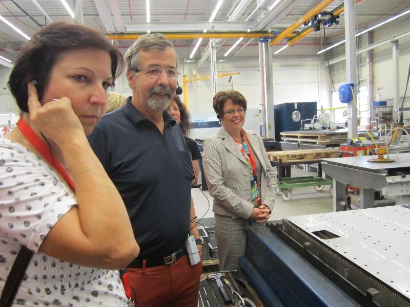 Besuch bei Rauch Landmaschinen am 18. September 2012