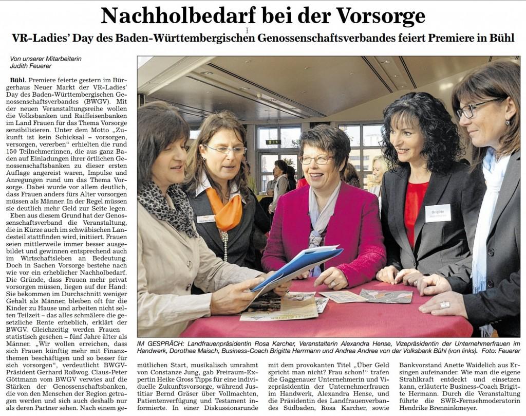 ABB, 14.11.2012: Nachholbedarf bei der Vorsorge
