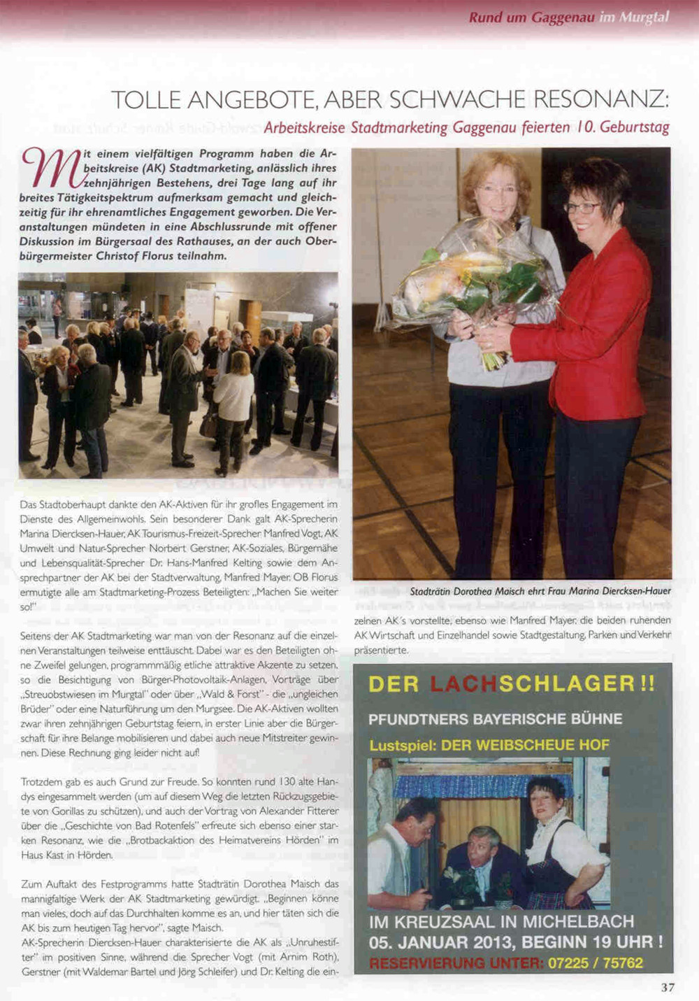 Baden-Journal, Dezember 2012