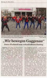 """BNN, 19. März 2012: """"Wir bewegen Gaggenau"""""""