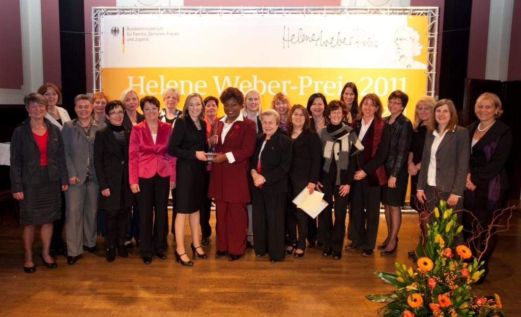 Verleihung des Helene-Weber-Preises 2011