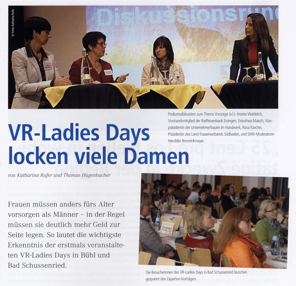 Genograph 1/2013: VR Ladies Day