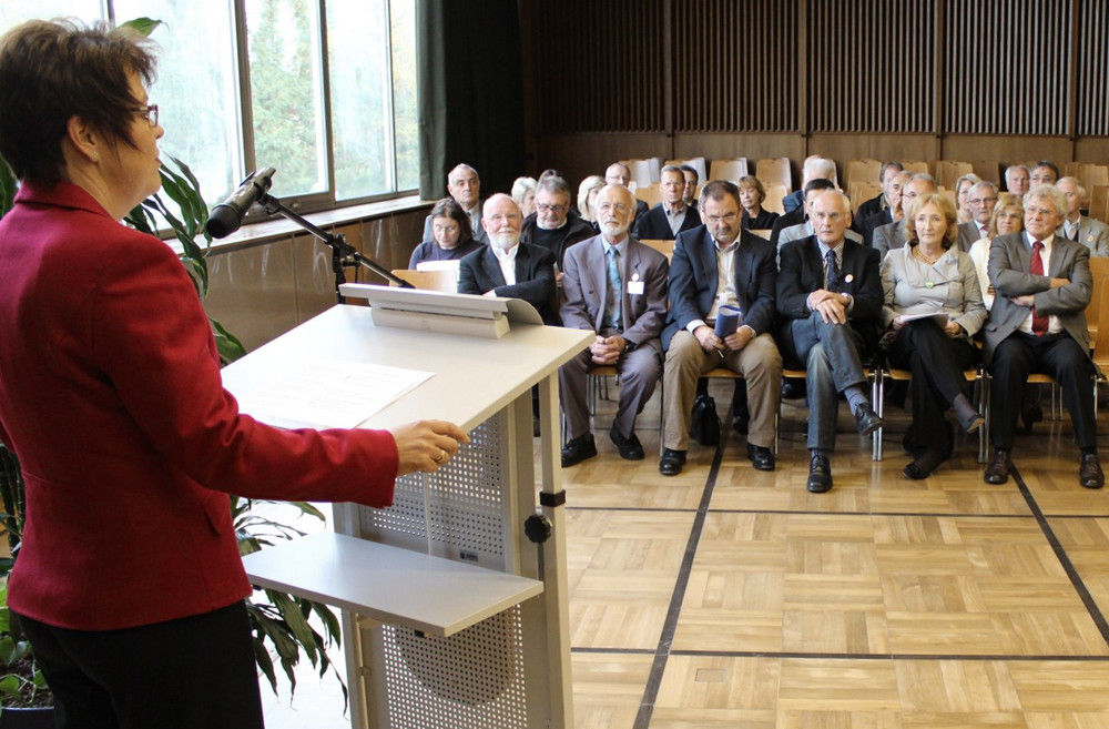 Dankesrede beim Jubiläum der Arbeitskreise Stadtmarketing im Rathaus von Gaggenau