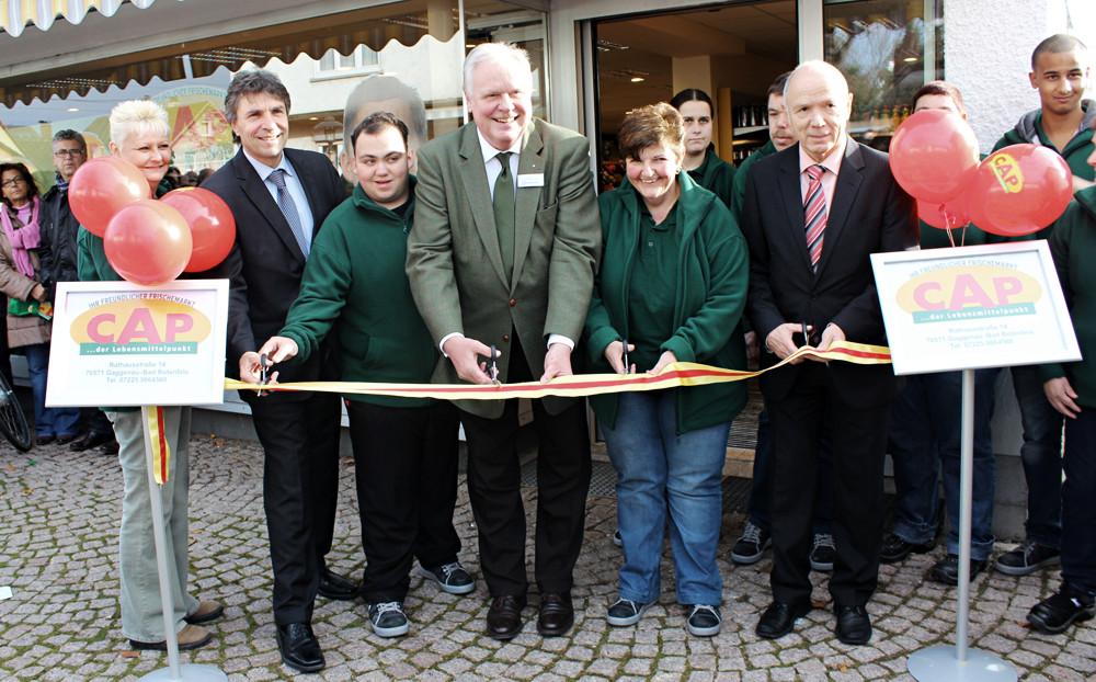 Neueröffnung CAP-Markt Bad Rotenfels