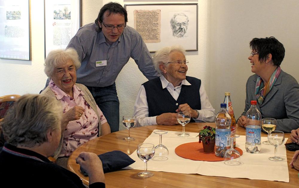 Besuch im Helmut-Dahringer-Haus in Gaggenau