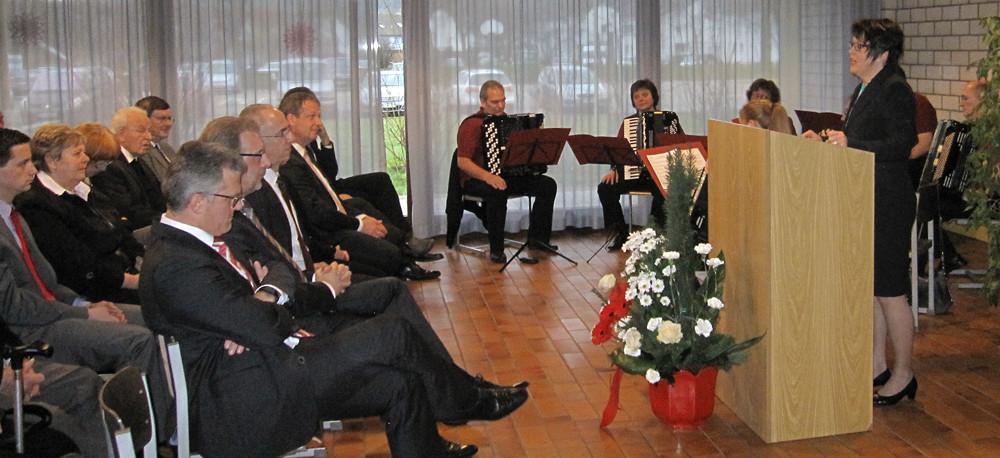 Amtseinfuehrung Bürgermeister Wein in Bischweier