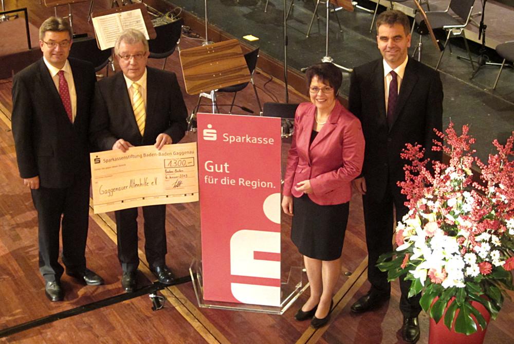 Neujahrskonzert der Sparkasse Baden-Baden-Gaggenau 2013